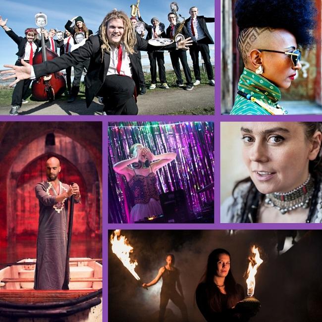 Vi firar valborg med 6 nya akter för Urkult 2018!