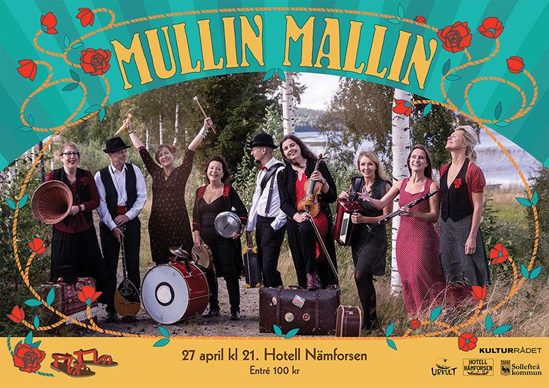Spelning med Mallin Mullin Band