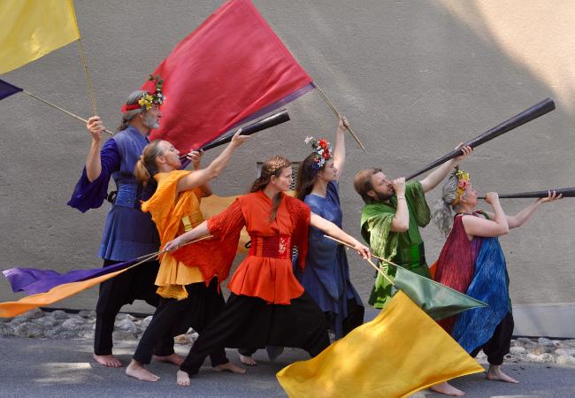 Barnföreställning med Teater Sláva